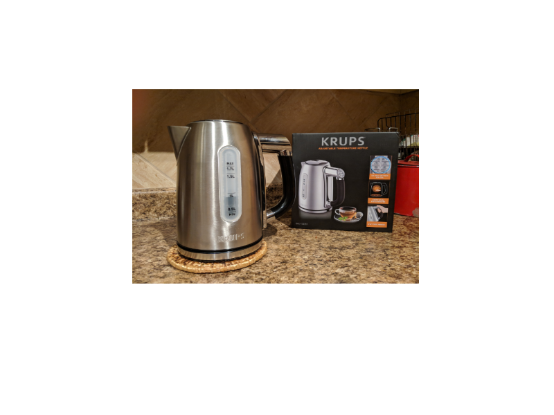Gong-Go Product Review – Krups Adjustable TemperatureKettle