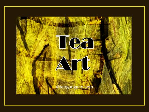 Tea as art – yup I'm a digital doodlertoo!