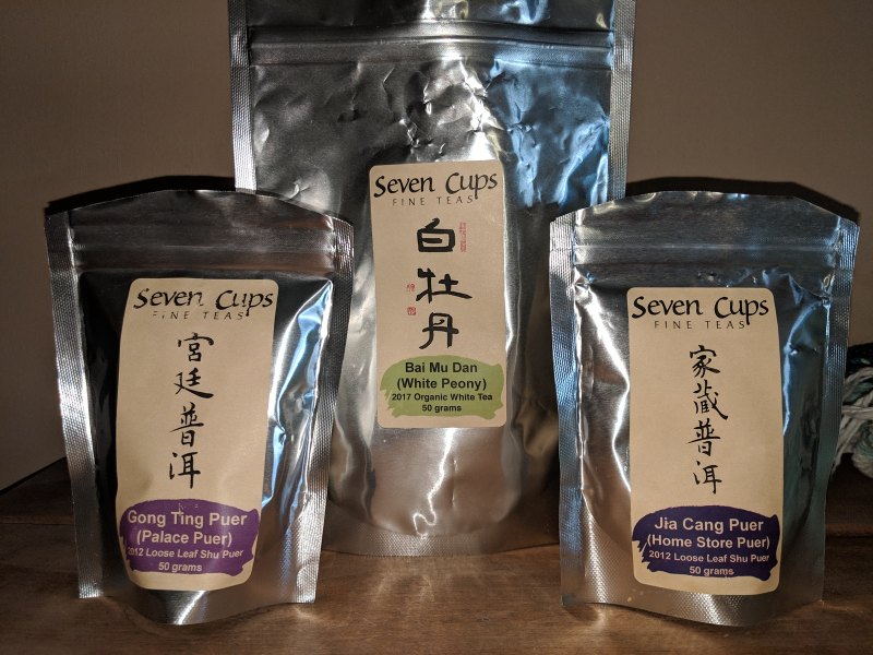 April's Tea Haul Recap of Seven Cups Fine Teas